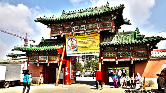 Gandantegchilen Monastery